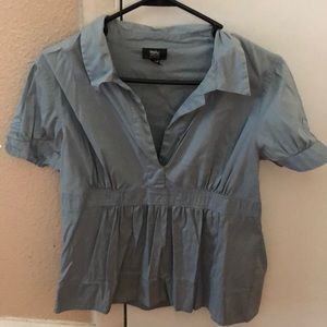 Blue mossimo blouse size M